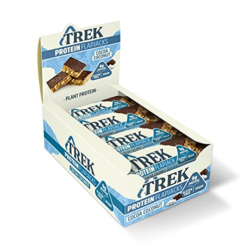 Trek Cocoa Coconut Flapjack Bar 50 g (Pack of 16) from Trek