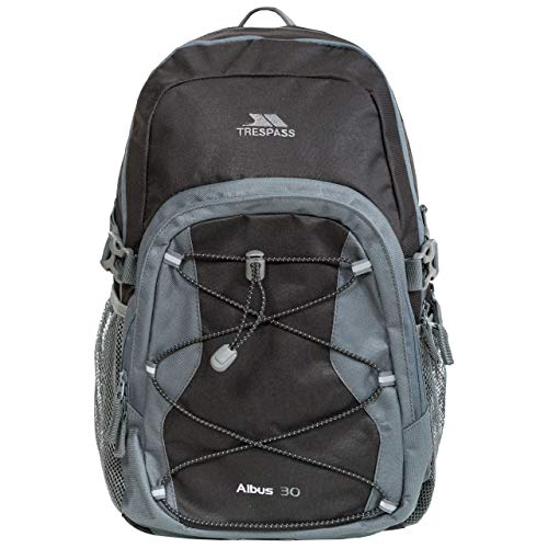 Trespass Albus, Ash, Backpack 30L, Grey from Trespass