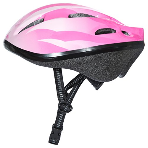 Trespass Children's Cranky Cycle Safety Helmet, Pink, Size 44/48 from Trespass