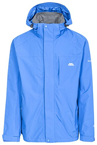 Edwards II Mens Breathable Waterproof Jacket - BLUE XL from Trespass