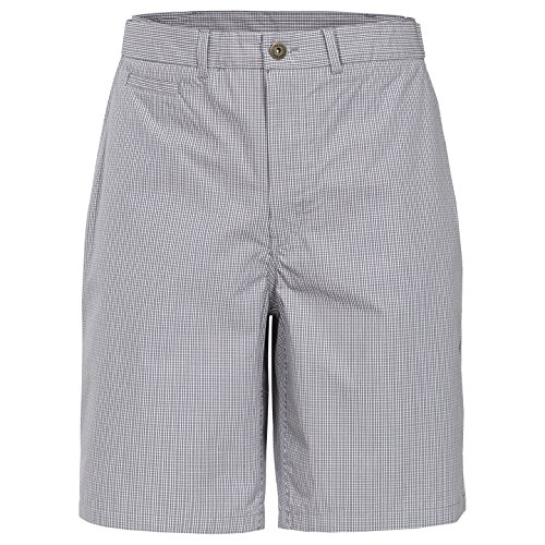 Trespass Men Quantum Shorts With Key Pocket for Men/ Gents/ Adults for Outdoor/ Fun/ Sports/ Leisure/ Beach/ Holiday - Grey Check, S from Trespass