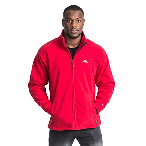 Trespass Men's Bernal Mens Fleece At300 - Red, 2X-Large from Trespass