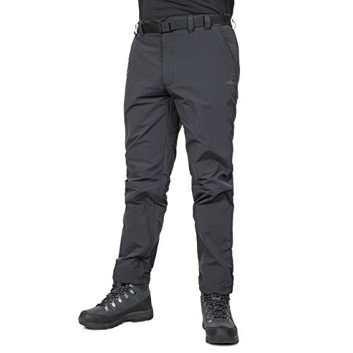 Clifton Mens Belted Quick Drying Active Trousers Black from Trespass