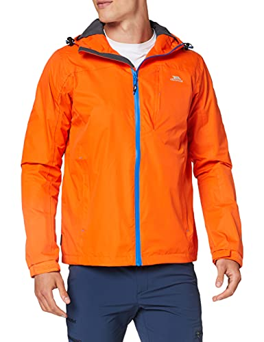 Trespass Hilman Ii Men's Breathable Hooded Waterproof Jacket - Sunrise M from Trespass