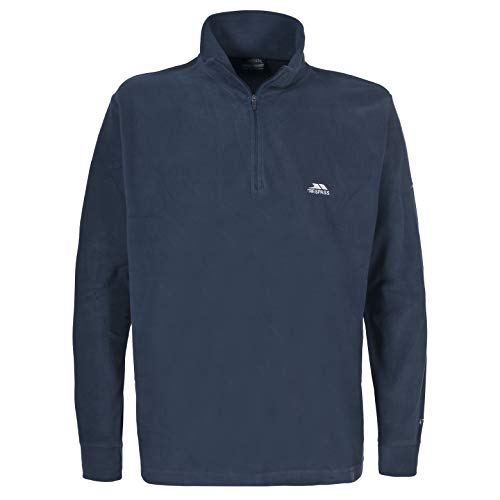 Trespass Men's Masonville Microfleece - Navy Blue, X-Small from Trespass