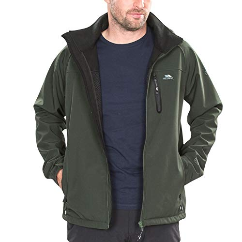 Trespass Accelerator II Mens Softshell Jacket Olive from Trespass