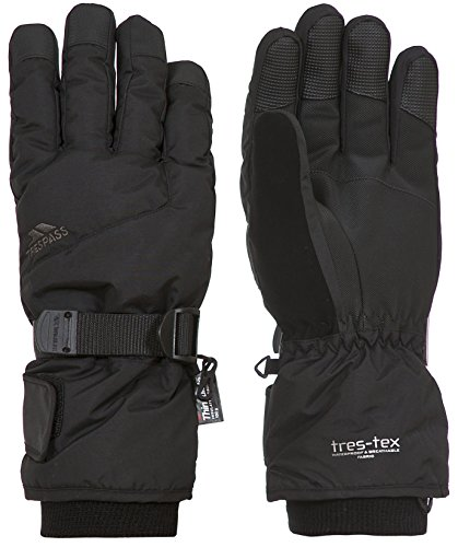Trespass Waterproof Ergon II Men's Outdoor Padded Gloves available in Black - Size 13/14 from Trespass