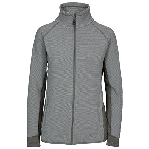 Detour Womens Full Zip Fleece Jacket - MOSS STRIPE M from Trespass