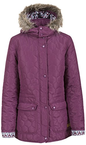 Trespass Jenna Womens Casual Parka Jacket Hooded Lightweight Padded Ladies Coat from Trespass