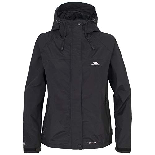 Trespass Women's Miyake Waterproof Jacket - Black, 2X-Small from Trespass