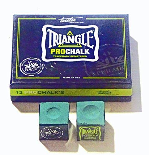 2 X PCS TRIANGLE PRO CHALK FOR THE SERIOUS PLAYER** from Triangle chalk
