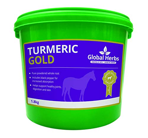 Global Herb Turmeric Gold Pure Powdered Whole Turmeric Root and Black Pepper from Global Herbs