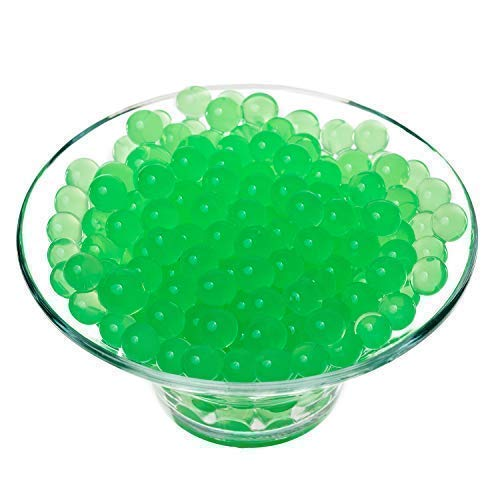 Trimming Shop 5g Green Water Balls For Plant Vase Filler, Home Decor, Centerpieces, 10 Packs from Trimming Shop