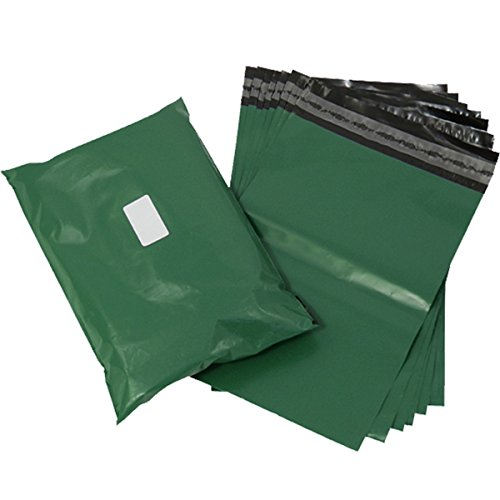 Triplast 10 x 14-Inch Plastic Mailing Postal Bag - Olive Green (Pack of 200) from Triplast
