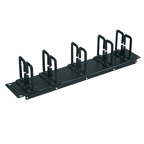 Tripp Lite Horizontal 2U Cable Manager for Server Rack Enclosure Cabinets (SRCABLERING2U) from Tripp Lite