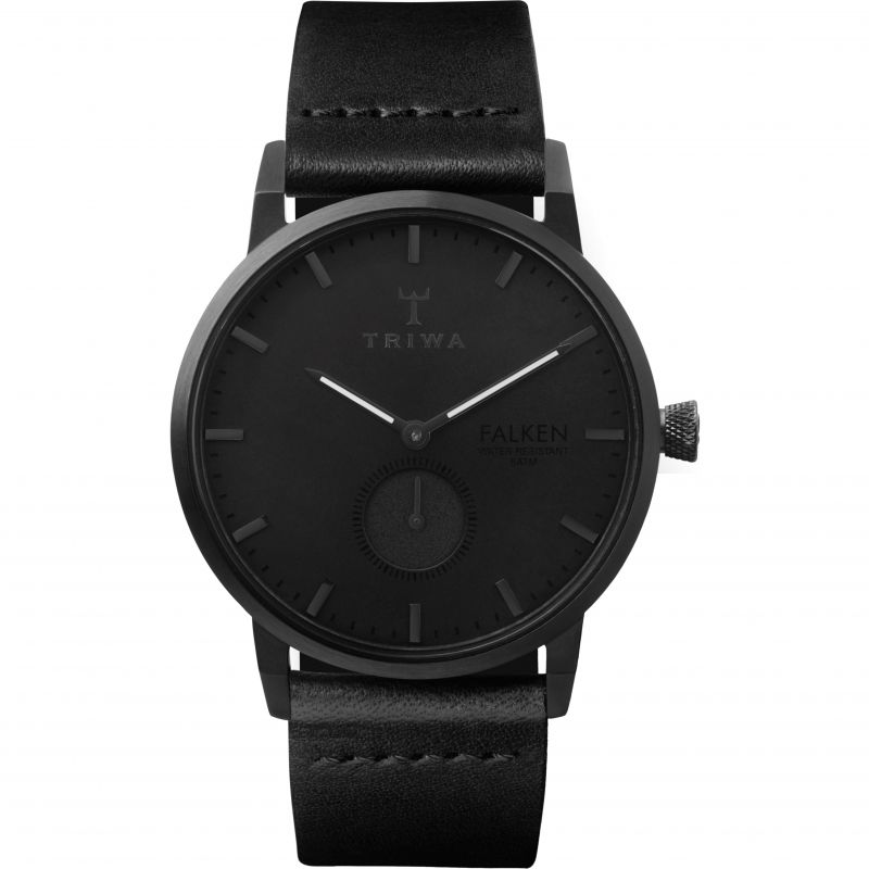 Mens Triwa Midnight Falken Watch from Triwa