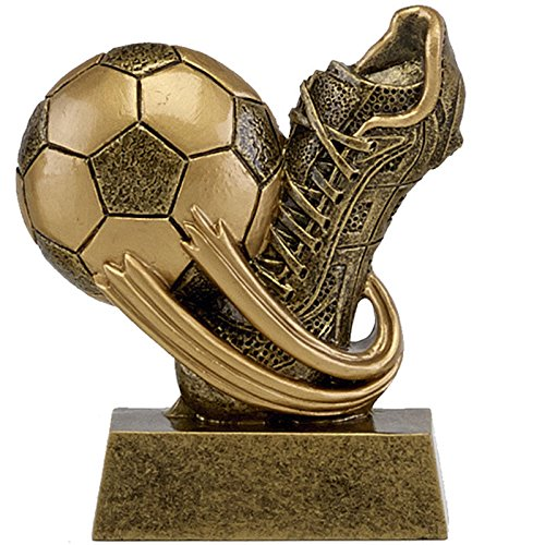 8.25cm Football Boot & Ball Trophy Free Engraving up to 30 Letters from Trophy