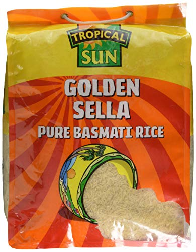 Tropical Sun Golden Sella Rice 10kg(Pack of 1) from Tropical Sun
