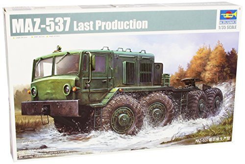 Trumpeter 1:35 - MAZ-537 Late Production from Trumpeter