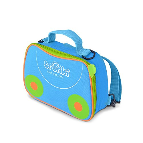Trunki Kids Insulated Lunch Bag & Backpack With Shoulder Strap - Terrace (Blue) from Trunki