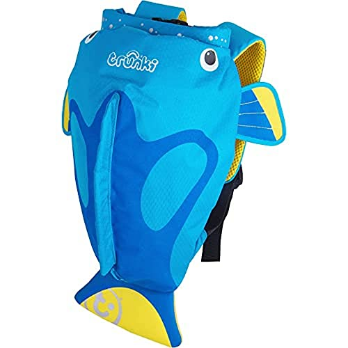 6096de7b145 Trunki Kid's Water-Resistant Swim & Gym Bag – PaddlePak Tang Surgeonfish  (Blue)