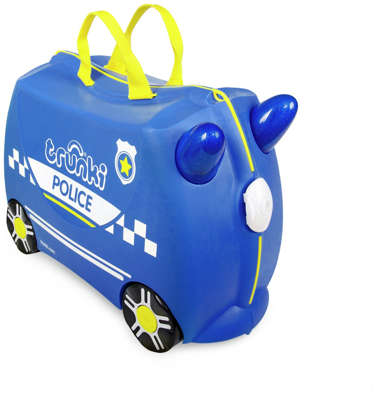 Trunki Percy the Police Car Ride-On Suitcase from Trunki
