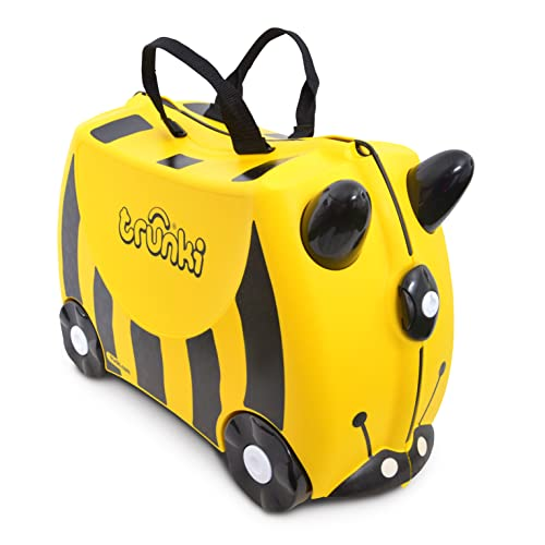 Trunki Ride-on Suitcase - Bernard the Bee (Yellow) from Trunki