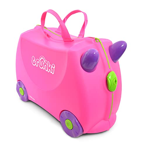 Trunki Children's Ride-On Suitcase: Trixie (Pink) from Trunki
