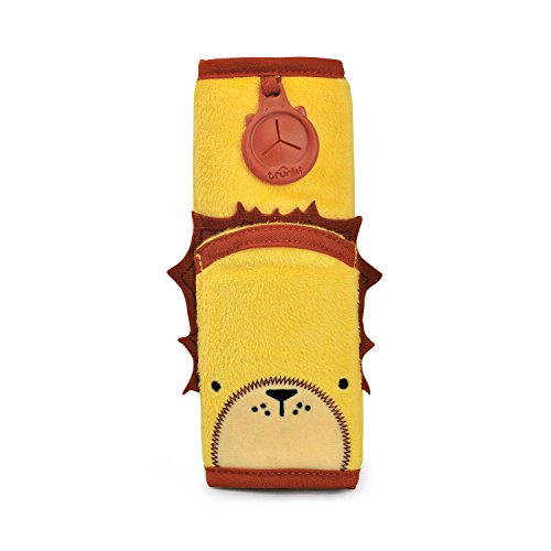 Trunki Children's Seat Belt Pad – SnooziHedz Leeroy Lion (Yellow) from Trunki