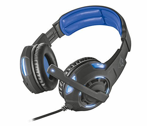 Trust Gaming GXT 350 Radius 7.1 Gaming Headset for PC and Laptop - Black/Blue from Trust Gaming