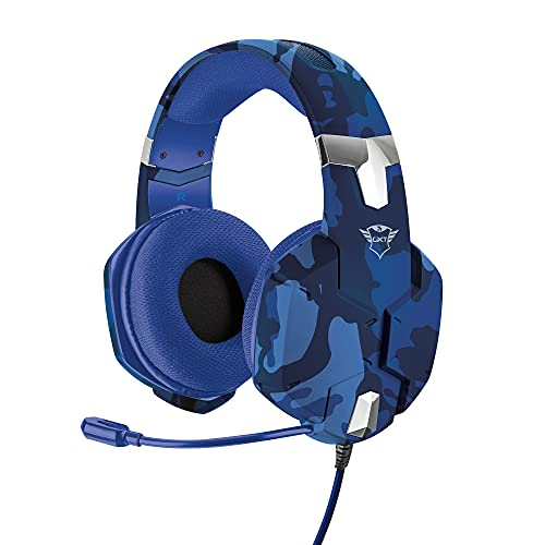 Trust Gaming 23249 GXT 322B Carus Gaming Headset for PS4 - Camo Blue from Trust Gaming