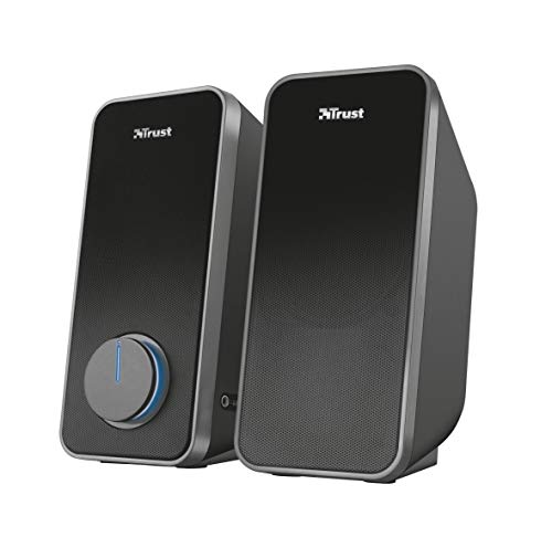 Trust Arys 2.0 PC Speakers for Computer and Laptop, 28 W, USB Powered, Black from Trust