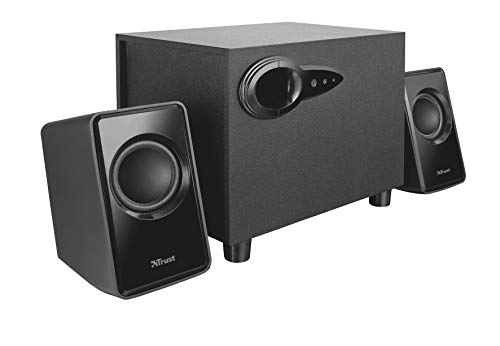 Trust 20442 Avora 2.1 PC Speakers with Subwoofer for Computer and Laptop, USB Powered, 18 W from Trust