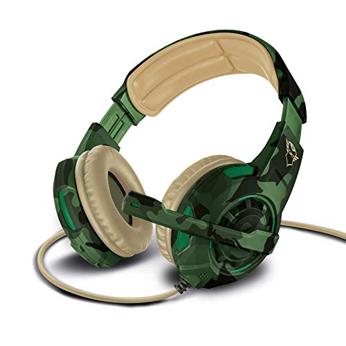 Trust GXT 310D Radius Gaming Headset for PC, Laptop, PS4 and Xbox One, Jungle Camo from Trust