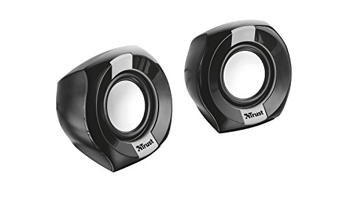 Trust 20943 Polo 2.0 Compact PC Speakers for Computer and Laptop, 8 W, USB Powered - Black from Trust