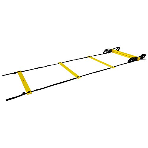 Tunturi Unisex Functional Agility Ladder Speed Soccer, Black, 4.5 m from Tunturi