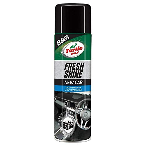 Turtle Wax 51787 Fresh Shine Interior Car Cleaner Dashboard Plastic Restorer New Car 500ml from Turtle Wax