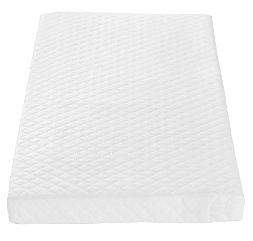 Tutti Bambini Sprung Cot Mattress (60 cm X 120 cm) Breathable Spring Baby Bed Mattress - Made from Just Tec Technology from Tutti Bambini