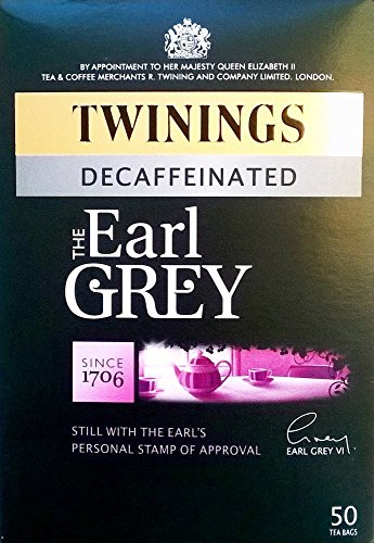 Twinings Earl Grey Decaffeinated 50 Teabags 125G from Twinings