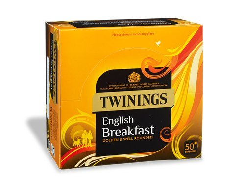 Twinings English Breakfast Envelope 1 x 50 tea bags from Twinings