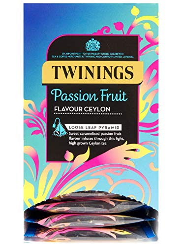 Twinings Pyramid Passion Fruit Ceylon Tea - Pack Size = 4x15 from Twinings