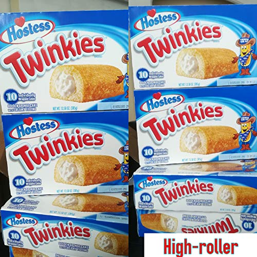 Twinkies 6 Pack - 6 Full Boxes - 60 Cakes from Twinkies
