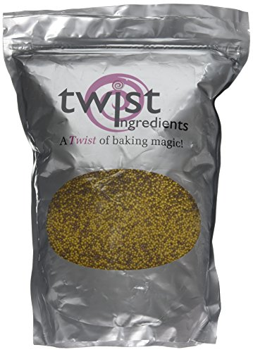 Twist Ingredients Glimmer Hundreds And Thousands Bronze/Gold Mix 1 Kg from Twist Ingredients