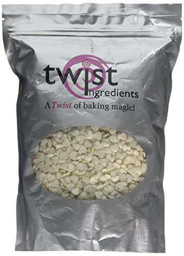 Twist Ingredients Glimmer Mother Of Pearl Love Hearts 800 g from Twist Ingredients