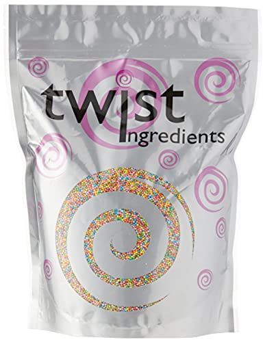 Twist Ingredients Rainbow Pearl Hundreds and Thousands 1 kg from Twist Ingredients