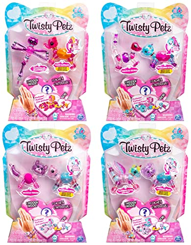 Twisty Petz 6044203 Collectible Dazzling Bracelets, 3 Pack Set, Assorted Pets from Twisty Petz