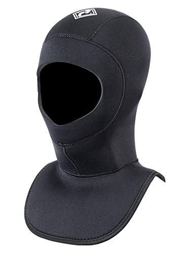 5mm / 7mm Dive Hood Neoprene Diving Wetsuit Collar - Scuba Surf Kayak (7MM - M) from Two Bare Feet