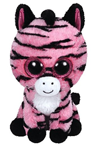 TY Beanie Boo Plush - Zoey the Zebra 15cm (Color may vary) from Ty