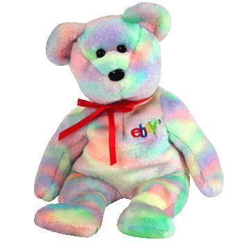 Ty Beanie Baby - BIDDER the Bear (Ebay & TY Credit Card Exclusive) [Toy] from Ty