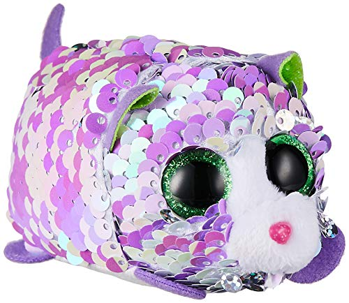 Ty 42408 Lilac CAT FLIPPABLE Teeny, Multicolored from Ty